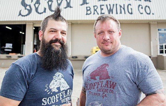 Scofflaw Brewing -- Travis Herman, left, Matt Shirah