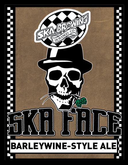 Ska Face Barleywine label BeerPulse