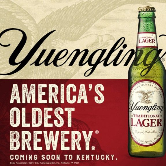 Yuengling expands distribution to Kentucky starting in March with four wholesalers