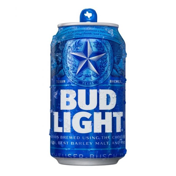 Bud Light can Texas BeerPulse 2018 campaign