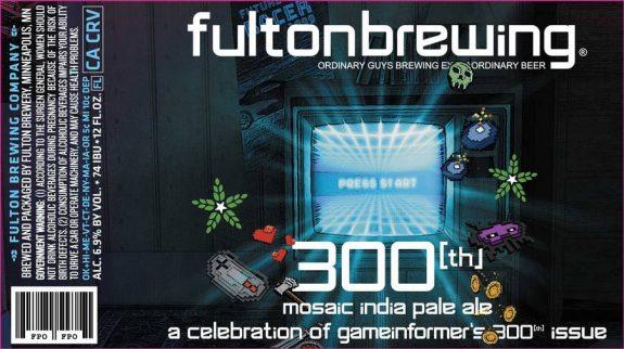Game Informer Fulton Beer label BeerPulse