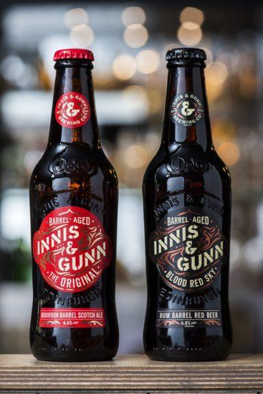 Innis and Gunn Scotland bottles BeerPulse