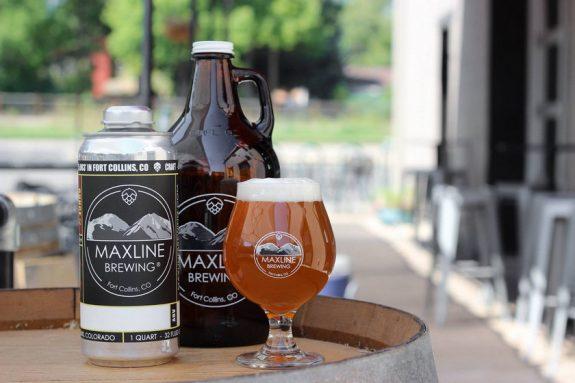 Maxline Brewing can growler glass BeerPulse