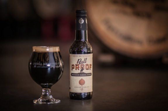 Odell Bull Proof Bourbon Barrel Stout bottle BeerPulse