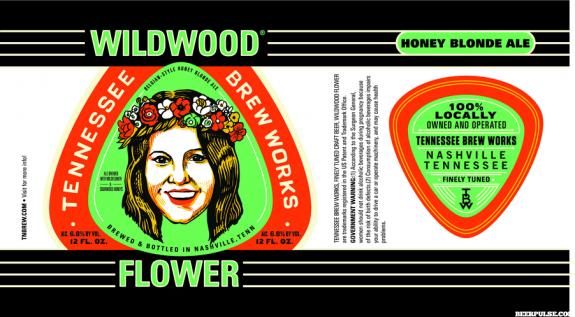 Tennessee Brew Works Wildwood Flower Label BeerPulse