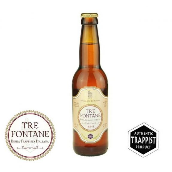 Tre Fontaine Tripel bottle BeerPulse