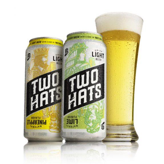 Two Hats beverage cans MillerCoors BeerPulse