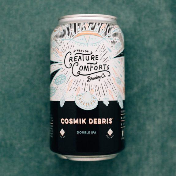 Creature Comforts Cosmik Debris can BeerPulse