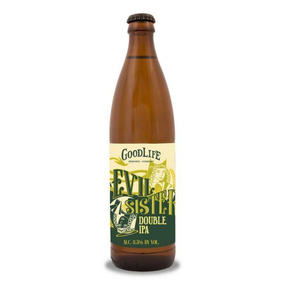 GoodLife Evil Sister Double IPA bottle BeerPulse