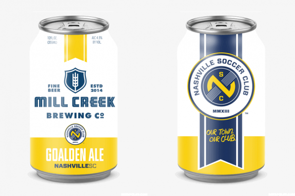 Mill creek brewing co to brew official craft beer of for Best craft beer in nashville