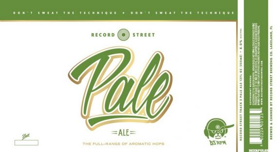 Record Street Pale 12oz Can