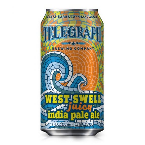Telegraph West Swell Juicy IPA coming to draft, bombers and eventually, cans