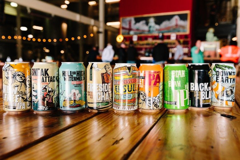 21st Amendment Brewery expands into Kentucky and ...