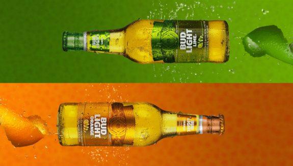 Bud Light Orange And Bud Light Lime Design Inspirations