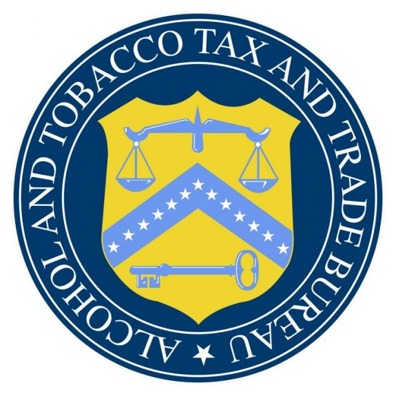 Alcohol and Tobacco Tax Trade Bureau logo square
