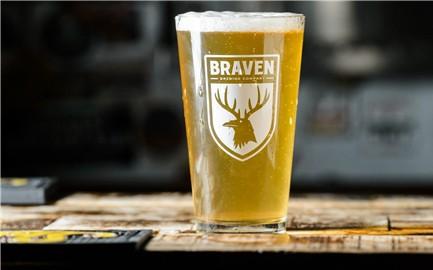 Braven pint glass BeerPulse