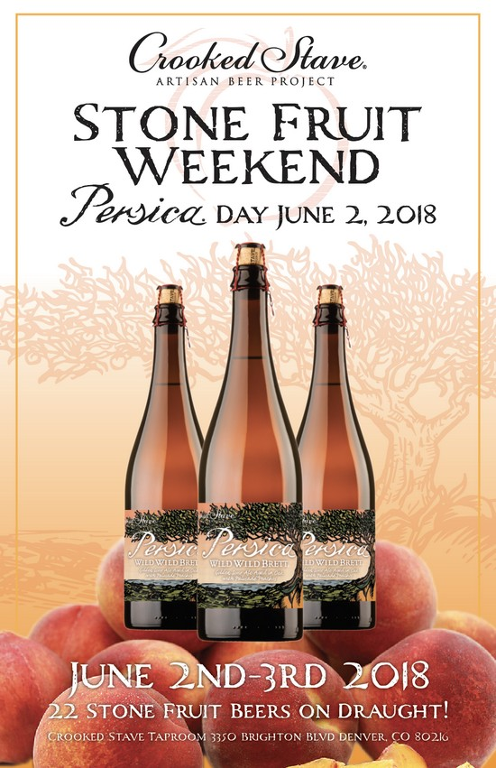 Crooked Stave announces Persica Day and Annual Stone Fruit Harvest Weekend