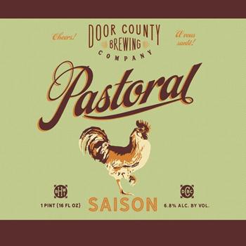 Door County Pastoral labels BeerPulse