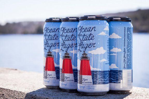 Foolproof Ocean State Lager cans BeerPulse