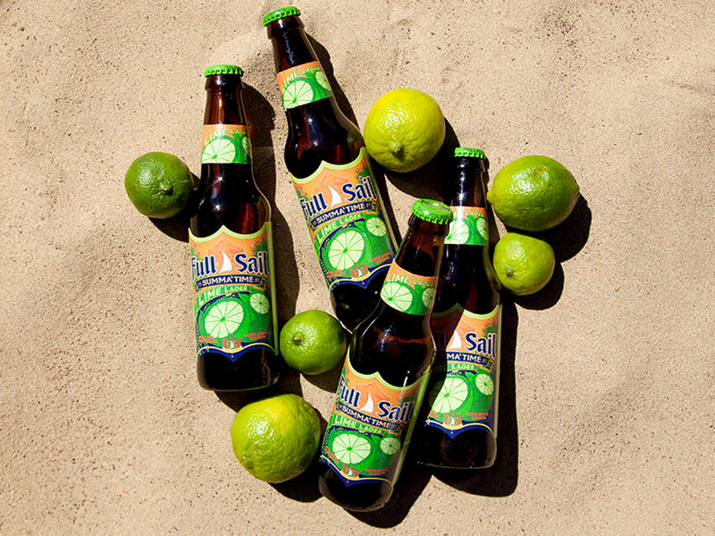 Full Sail Summa Time Lime Lager bottles BeerPulse