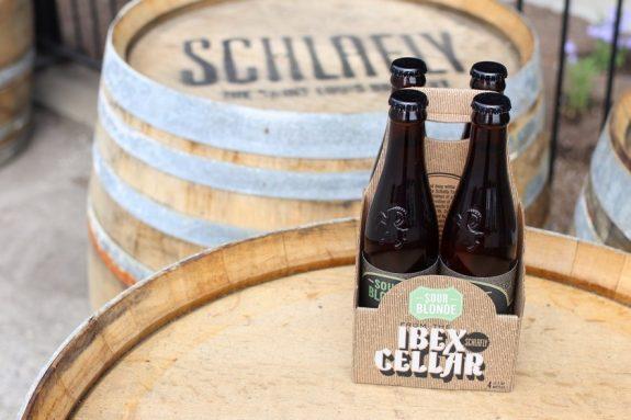 Schlafly Ibex Cellar Sour Blonde bottles BeerPulse